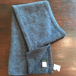 J. Crew Gray Knit Scarf